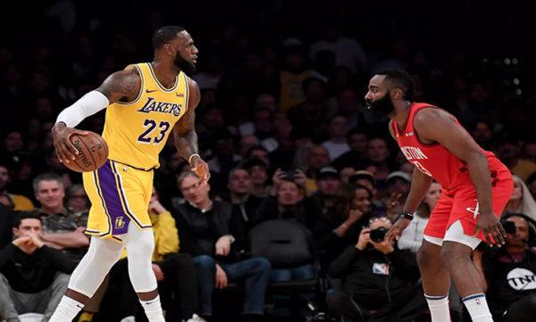 Lakers vs Rockets live stream