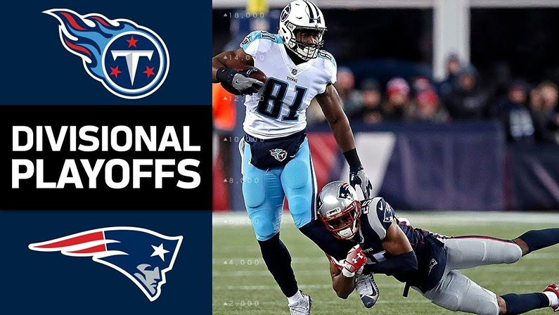 Titans vs Patriots live stream