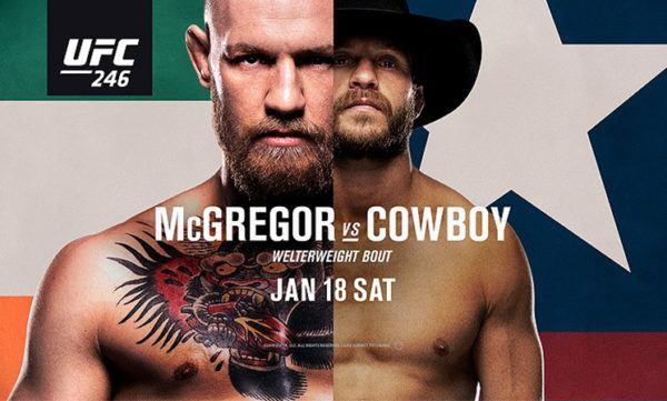 UFC246 live stream