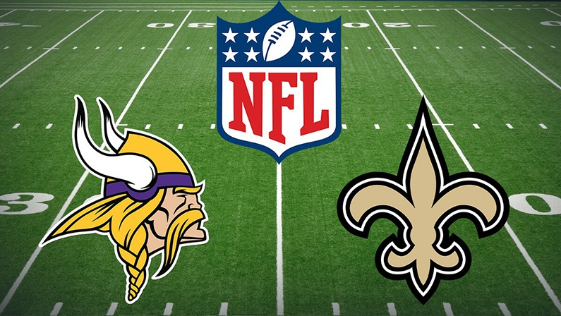 Vikings vs Saints live stream