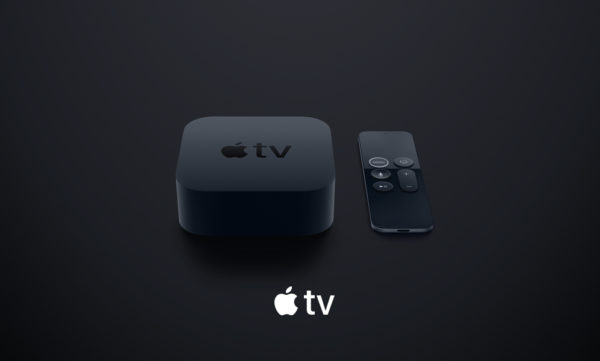 apple tv devices and logo