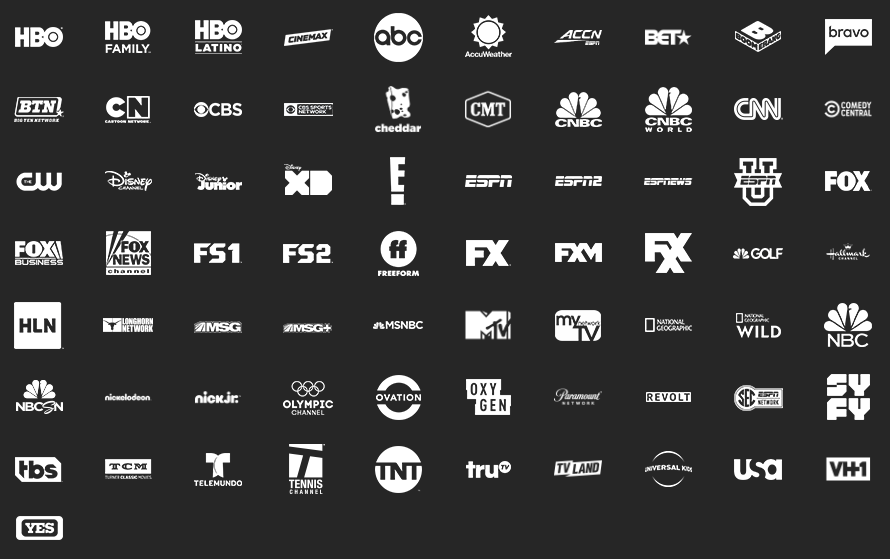At T Tv Now Directv Now Channels List 2020 Soda