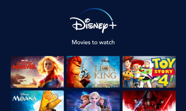 movies on disney plus