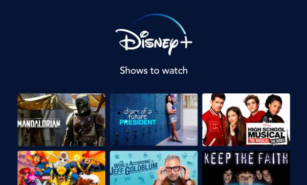shows on disney plus