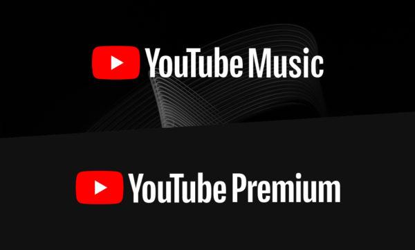 youtube music and youtube premium logos