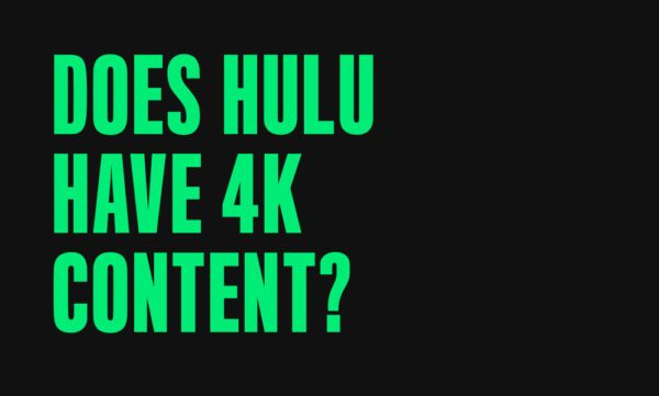 does hulu have 4k content