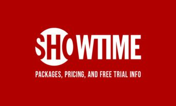 Showtime packages, pricing and free trial info