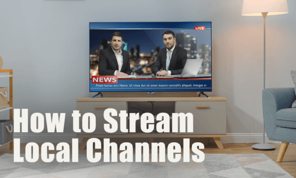 How to stream local channels